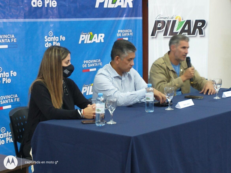Firma del convenio del Plan Incluir entre la provincia y las comunas de la región.