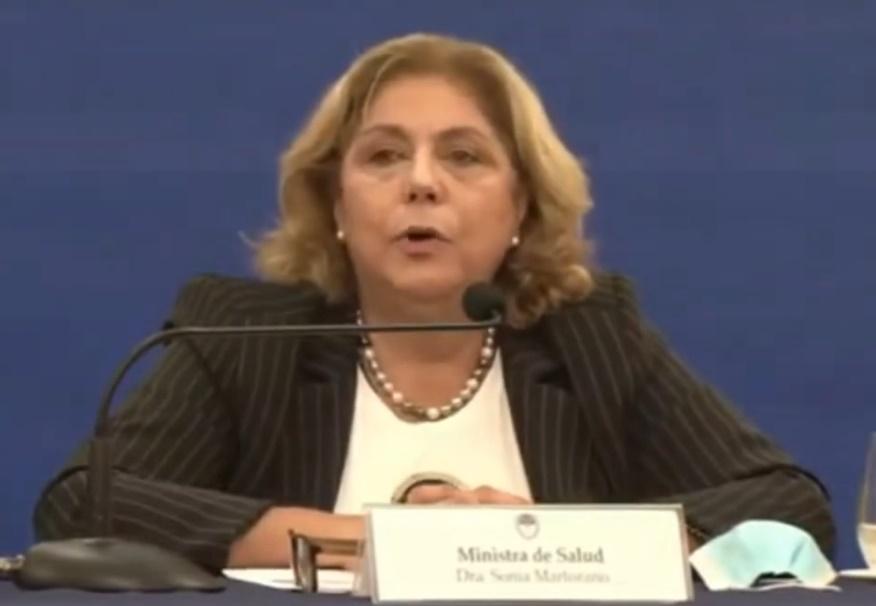 Detalles de las nuevas restricciones delineadas por la Ministra de Salud Sonia Martorano.