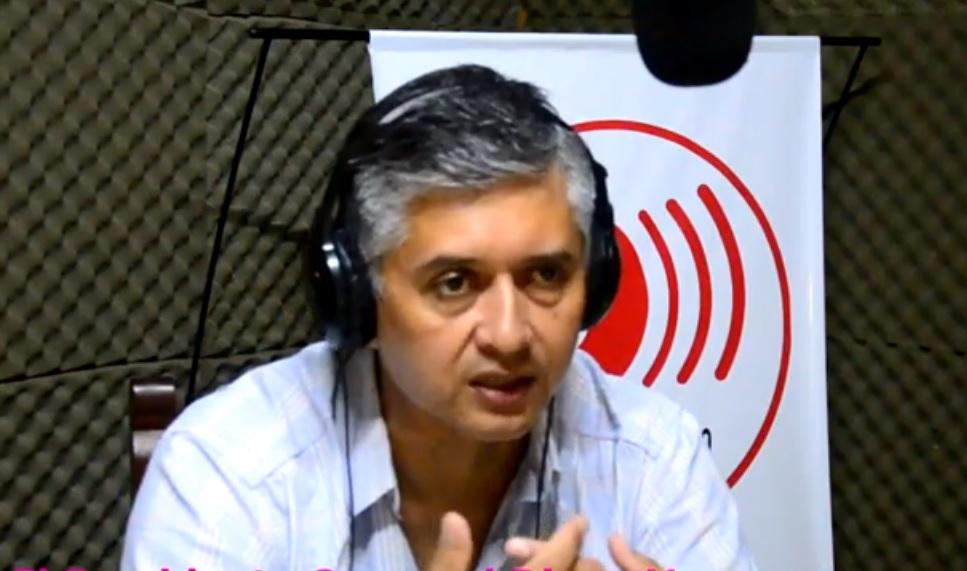 Diego Vargas visitó FM Master