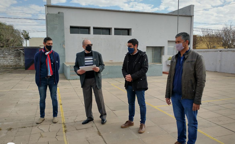 La Escuela San Martín recibe subsidio para obras