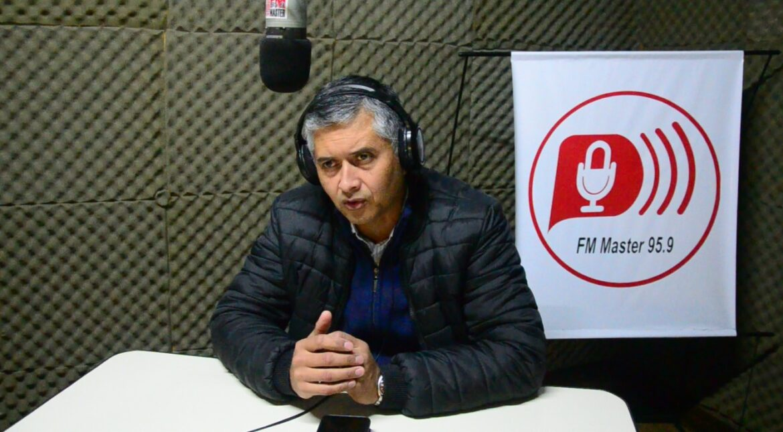El Presidente Comunal, visitó FM Master