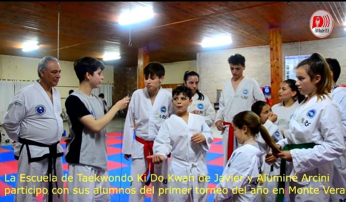 El Taekwondo de Pilar, participó del primer torneo del año en Monte Vera.